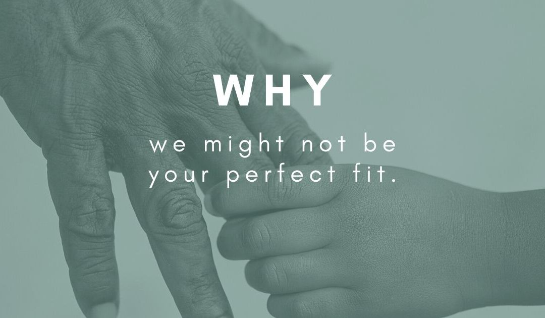 Why we might not be a good fit for your business