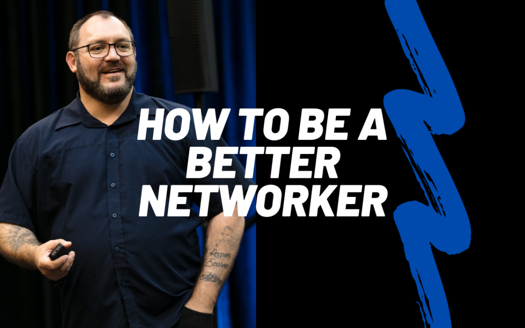 The formula to help you be a better networker