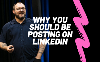 There's a good reason to start posting on LinkedIn