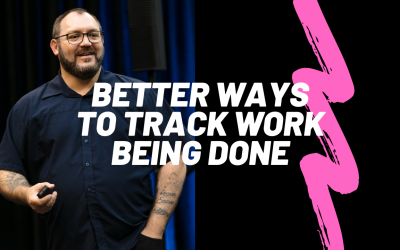 You can't track work with email and messaging