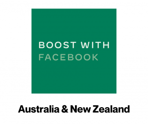Boost with Facebook Australia & New Zealand