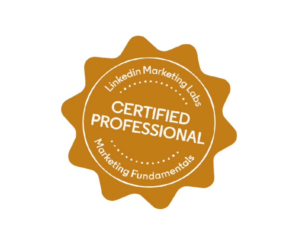 Certified LinkedIn Ads Professional
